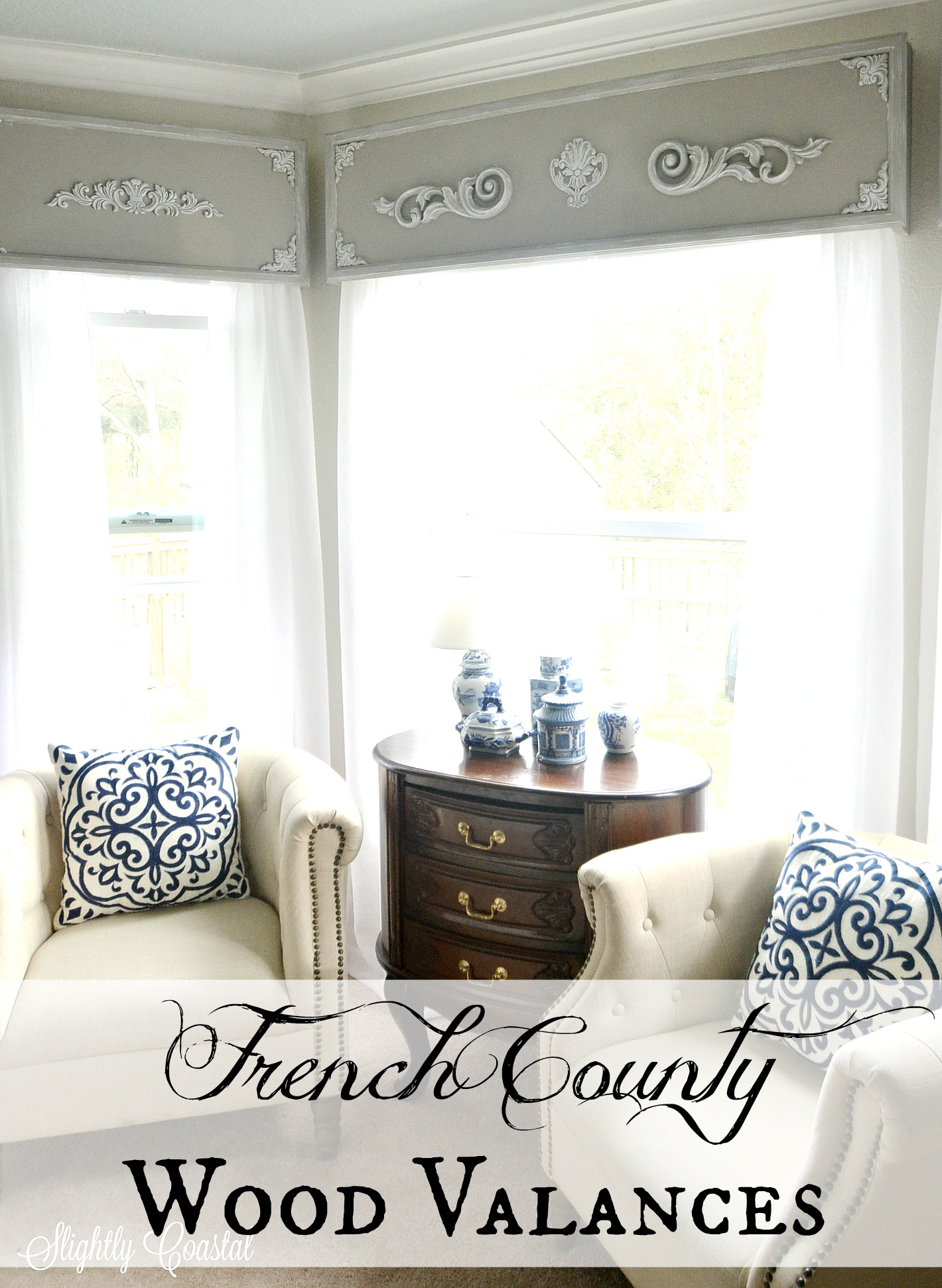 valance russo homesjoanne kitchen curtains country and valances swags treatment homes best window french joanne