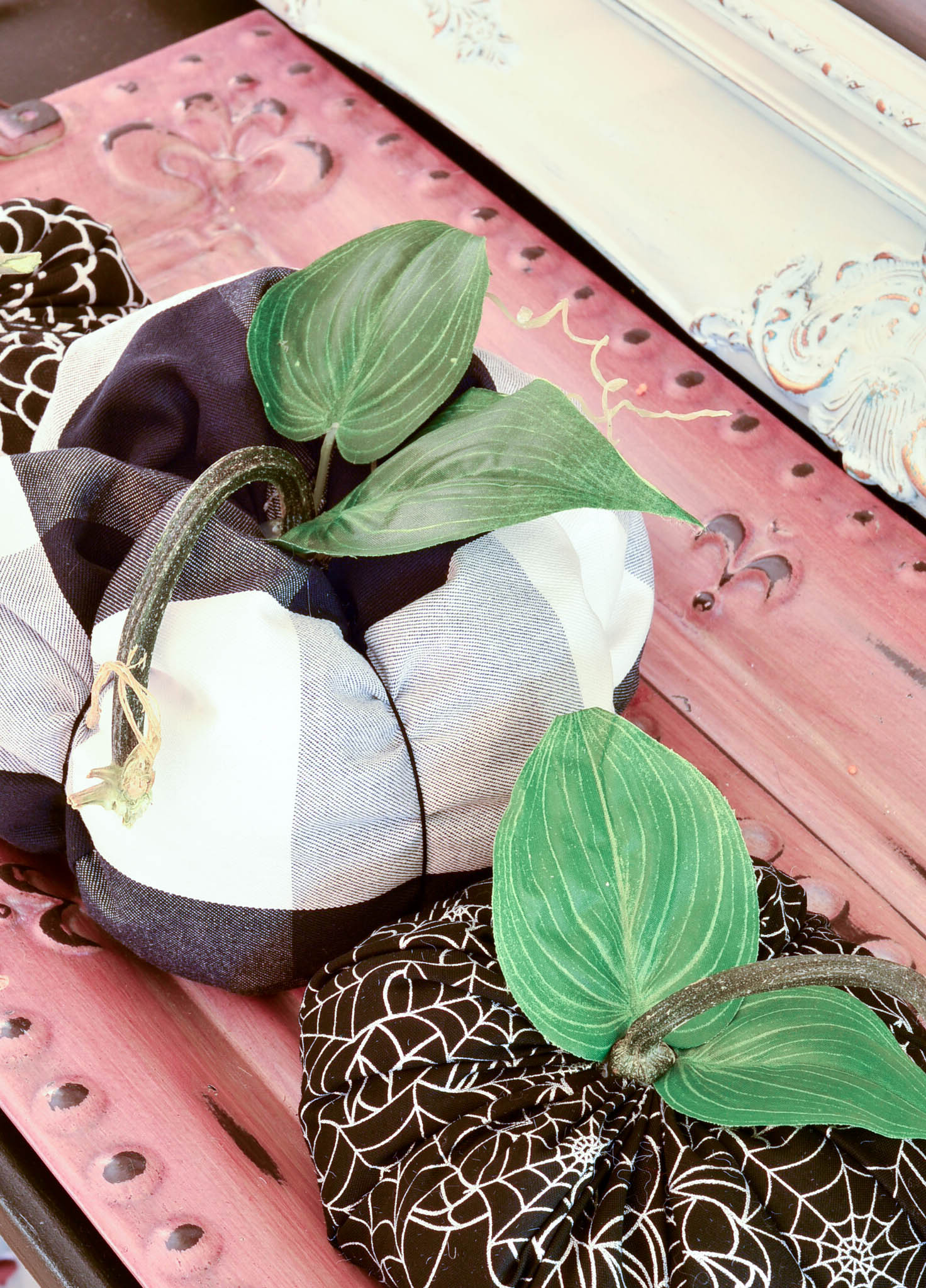 Slightly Coastal Fabric Pumpkins Tutorials