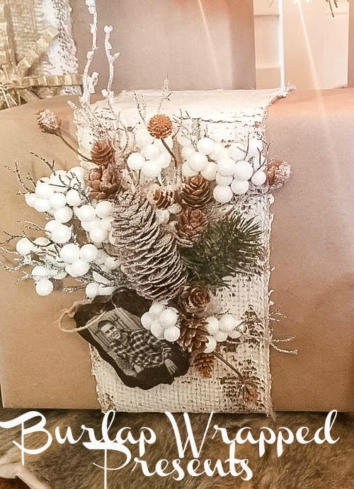 Diva-of-DIY-Burlap-Wrapped-Presents Christmas Gift Wrap Blog Tour Christmas DIY Holidays