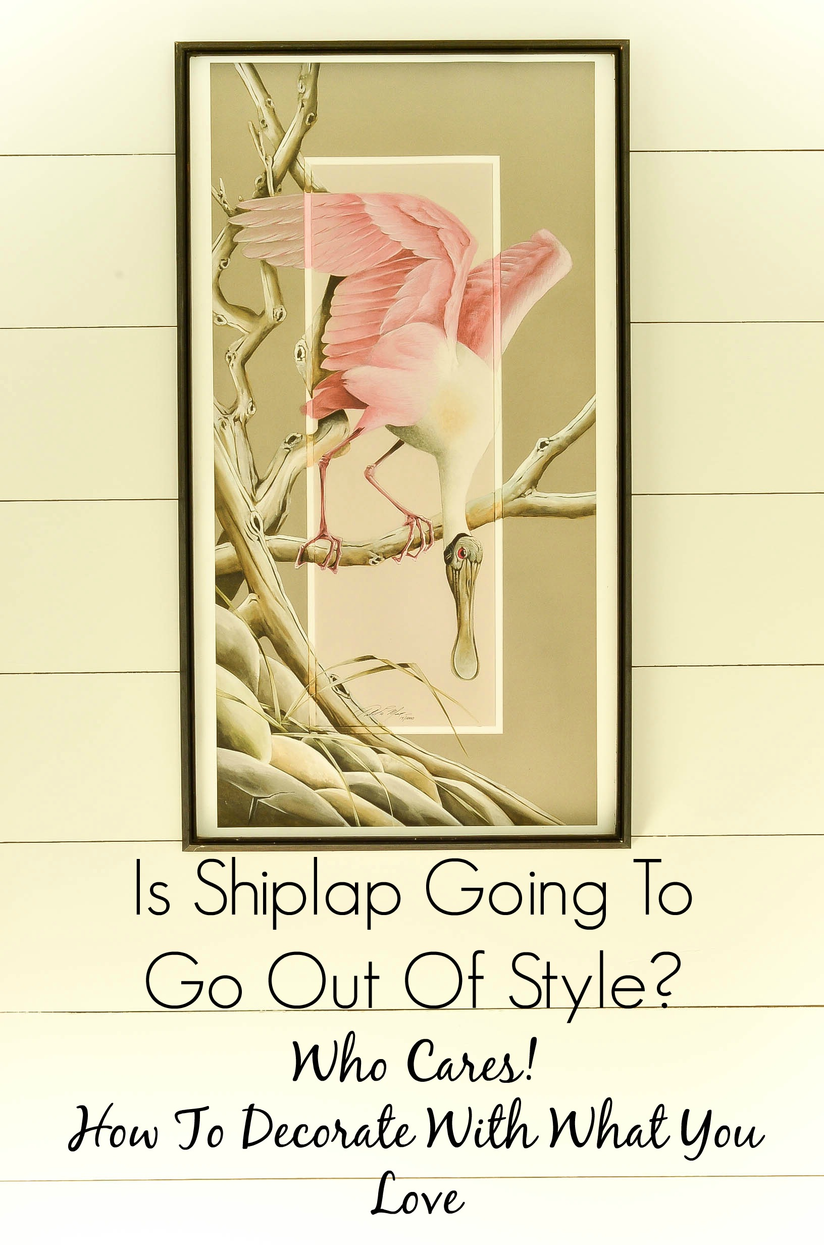 Is Shiplap Going to go out of style? Who care! How To Decorate With What You Love. Slightly Coastal